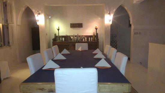 Al Hamra: Dining area