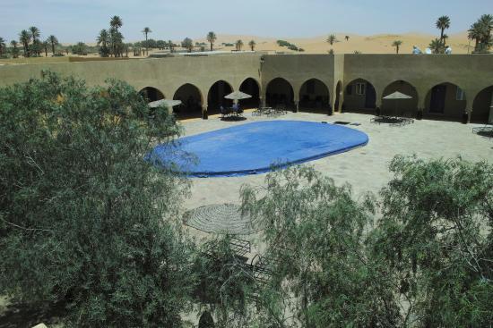 Hotel Riad Ali: リヤド中庭