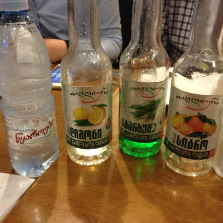 Local soft drinks