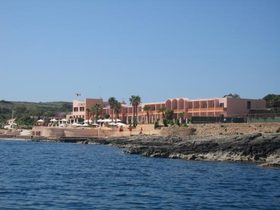 Comino Hotel : COMINO ISLAND HOTEL