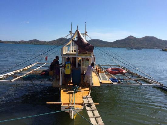 Dive Cal: Our bangka boat