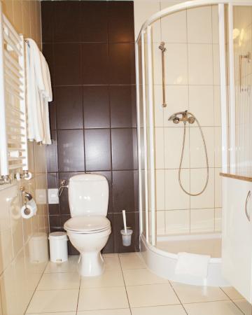 Hotel Wilga by Katowice Airport: Bathroom