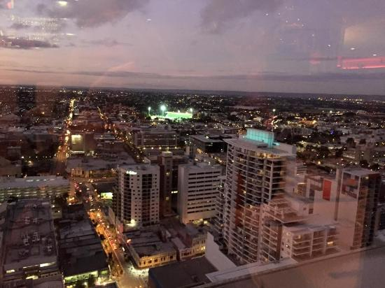 Nib stadium from the c restaurant picture of c for 44 st georges terrace perth parking