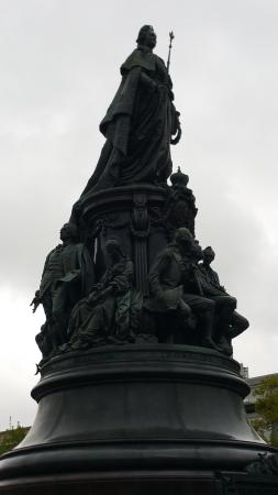 Monument to Catherine the Great: Katharinenstatue
