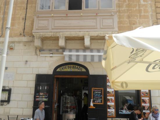 Cafe du Brazil: Cafe de brazil,birgu.malta