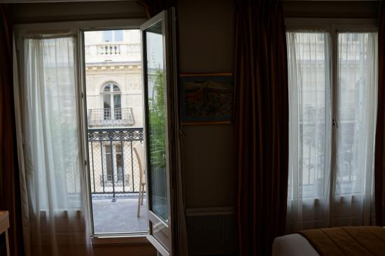Towards Double French Doors To Balcony Picture Of Volney Opera