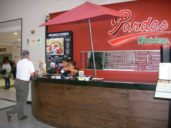 Pardos Chicken : Restaurante en el Larcomar