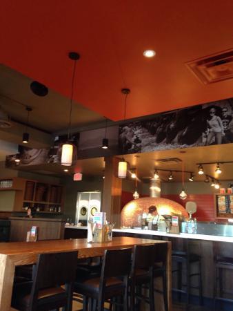 Famoso Neapolitan Pizzeria : Inside- May 2015