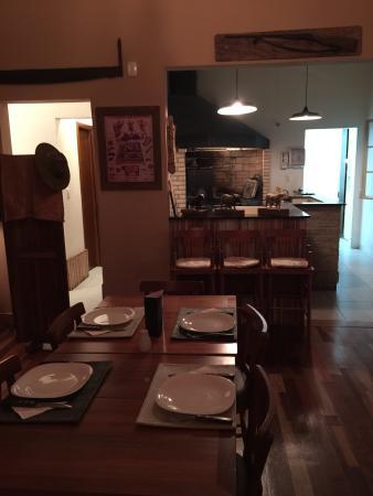 Detalhes do restaurante e da deliciosa refeição.