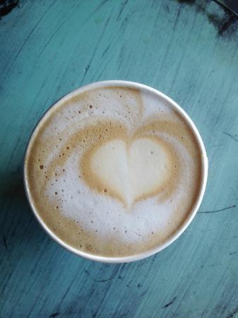 Orange Blossom Cafe : Latte Art