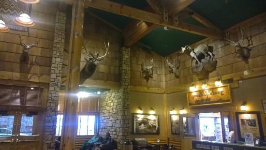 Bryce View Lodge: Ingresso ristorante