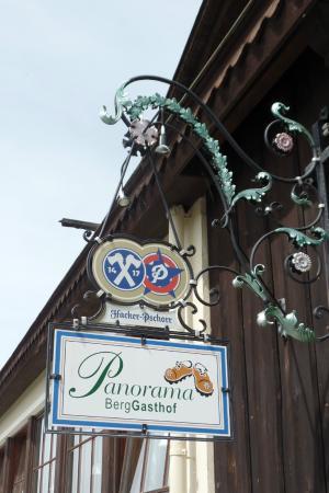 Berggasthof Panorama: Sign