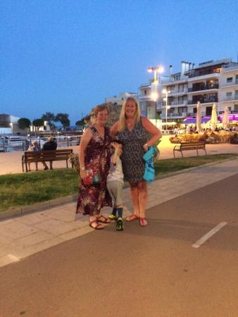 Thank you all at hotel Cala bona for the most exceptional holiday we have ever experienced. And