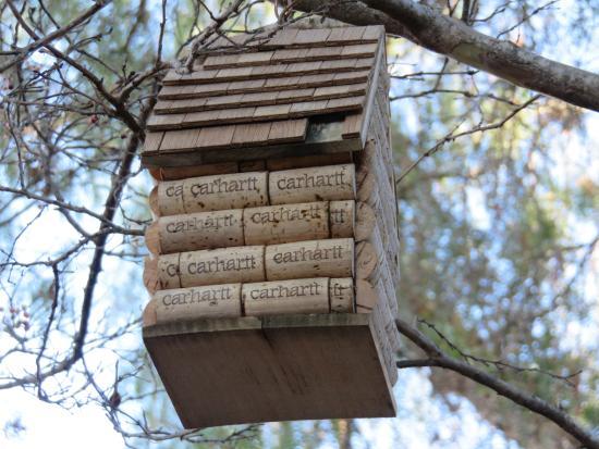 Darliing bird house!