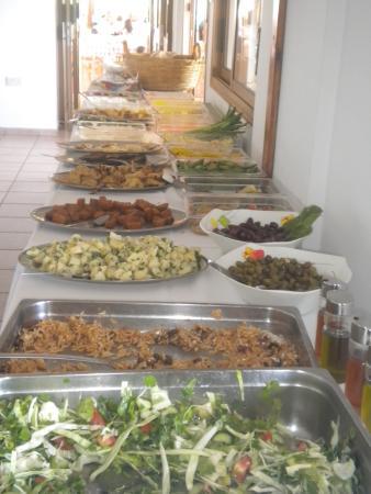 Nata, Cyprus: Salads