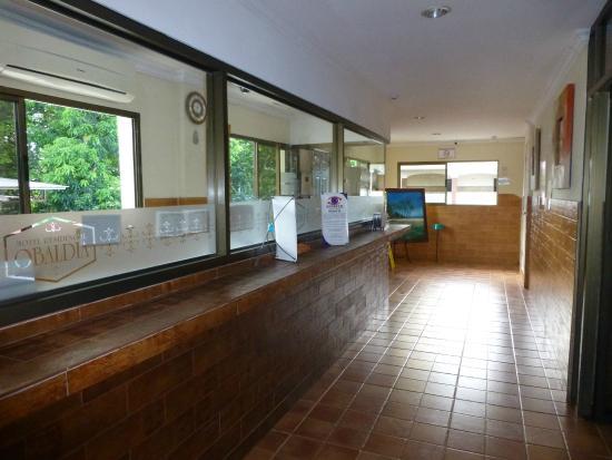 Hotel Residencial Obaldia: The reception desk