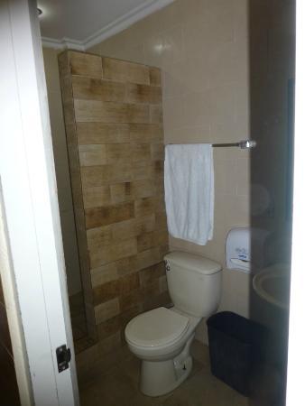 Hotel Residencial Obaldia: Nice clean bathroom with shower