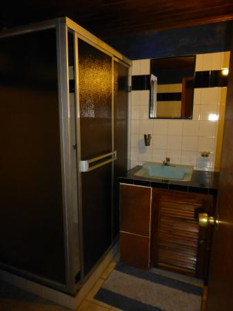 Pension Topas: Room with a private bath