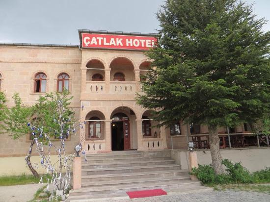 Selime, Turkey: Front entrance
