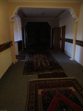 Selime, Turkey: Upstairs hallway