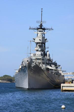 The USS Missouri (