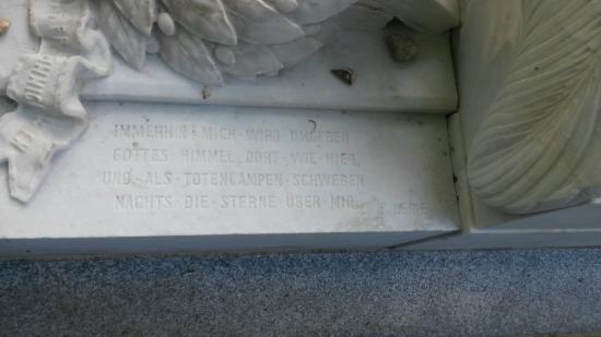 Paris, Frankrig: Grab von Heinrich Heine