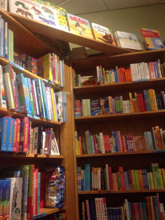 Malaprop's Bookstore: An awesome childrens corner, free readings from authors, amazing selection of local authors. Thi