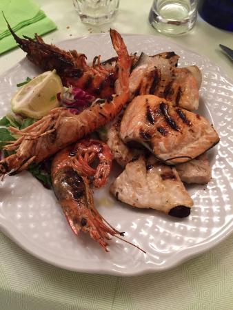 Osteria Matilde : Grigliata di pesce