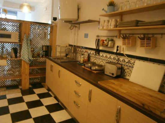 Casa Al Sur Terraza: Kitchen