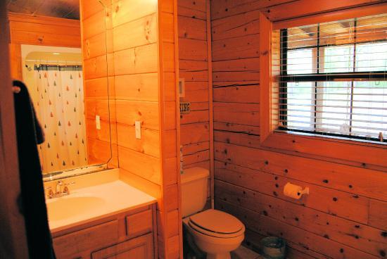 Cabin Fever Resort: Cabin 2 bathroom