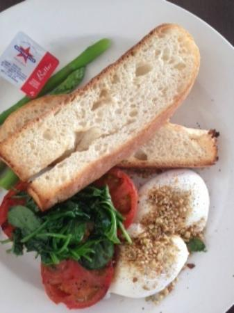 Mediterranean Cafe Ristorante: Dukka eggs breakfast