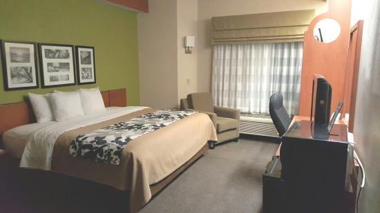 Best bed ever! - Picture of Sleep Inn & Suites, Milan - TripAdvisor