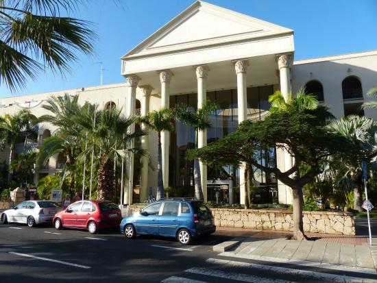 Hotel View From The Street Picture Of Bahia Princess Tenerife Tripadvisor