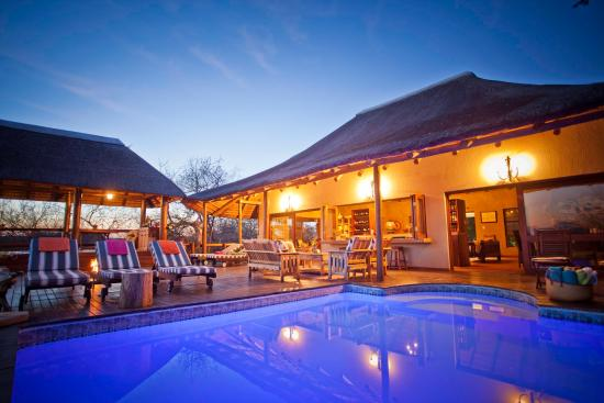 Sausage Tree Safari Camp: Main Reception, Sky Deck and Swimming Pool Area
