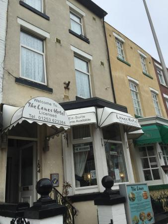 The Lanes Hotel Blackpool Reviews
