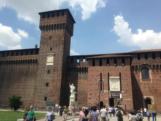 Museum of Applied Arts of Castello Sforzesco : Castello Sforzesco