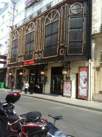 plan de la salle photo de th 233 226 tre des bouffes parisiens tripadvisor