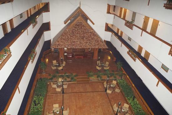 Lotus Hotel: Salon au 7ème étage