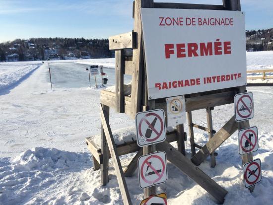 Station Touristique Lac Beauport: Accès au lac