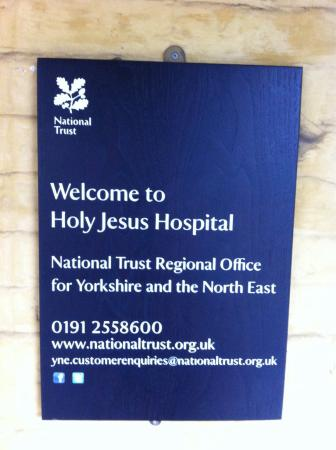 National Trust HQ's at Holy Jesus Hospital