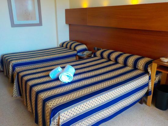 Es Canar, Spagna: Our room