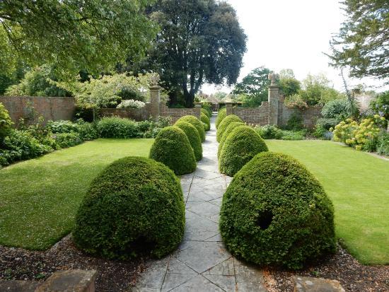 Tintinhull Garden: The garden seen from the house