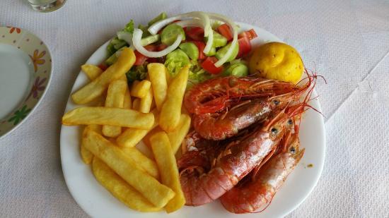 Shrimps grilled Babis2015