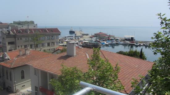 Sinopark Hotel: 5. kat balkonundan