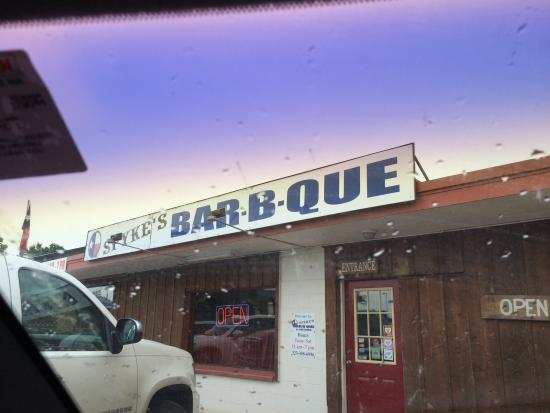 Spyke's Bar-B-Que: You are Here