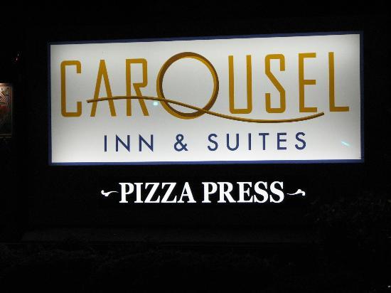 The Pizza Press: Restaurant Sign