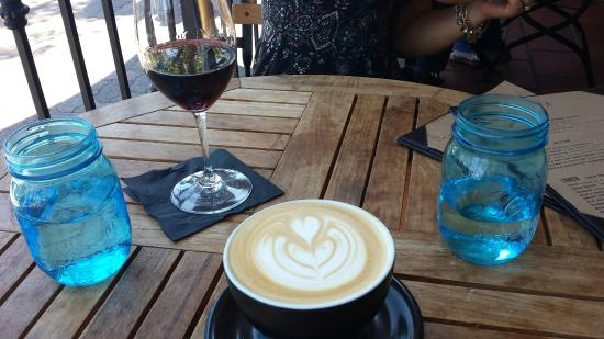 The Cellar: Latte and a Cab