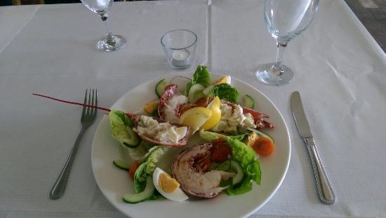 Fishy Dishy: Fresh Lobster salad