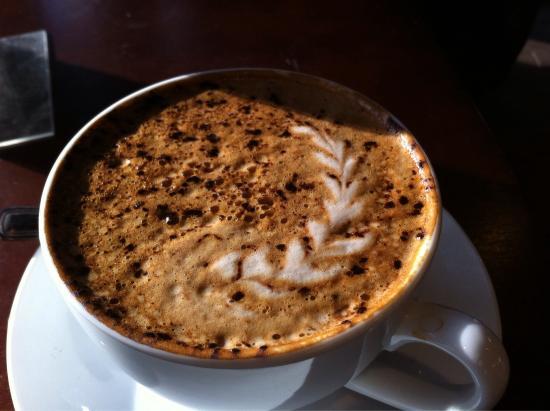 Cabin Coffee : Maple latte
