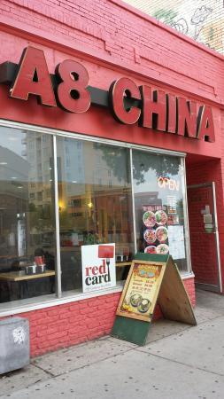 A 8 China